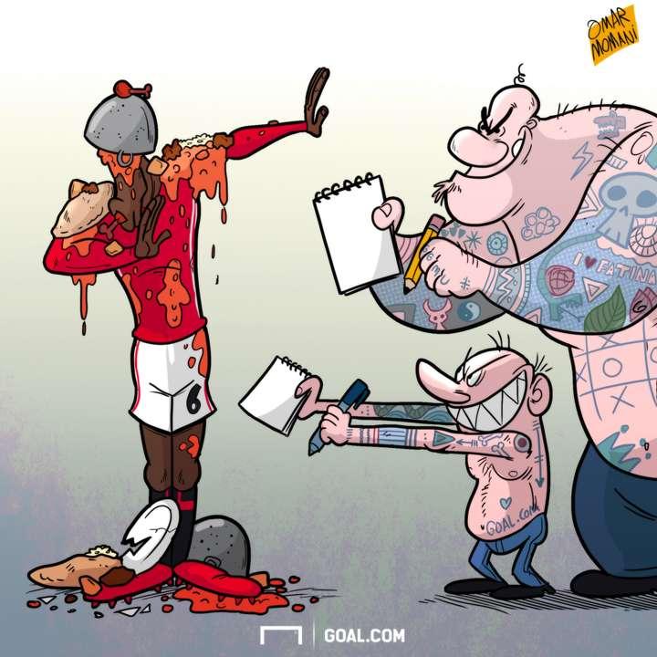 Paul Pogba Cartoon