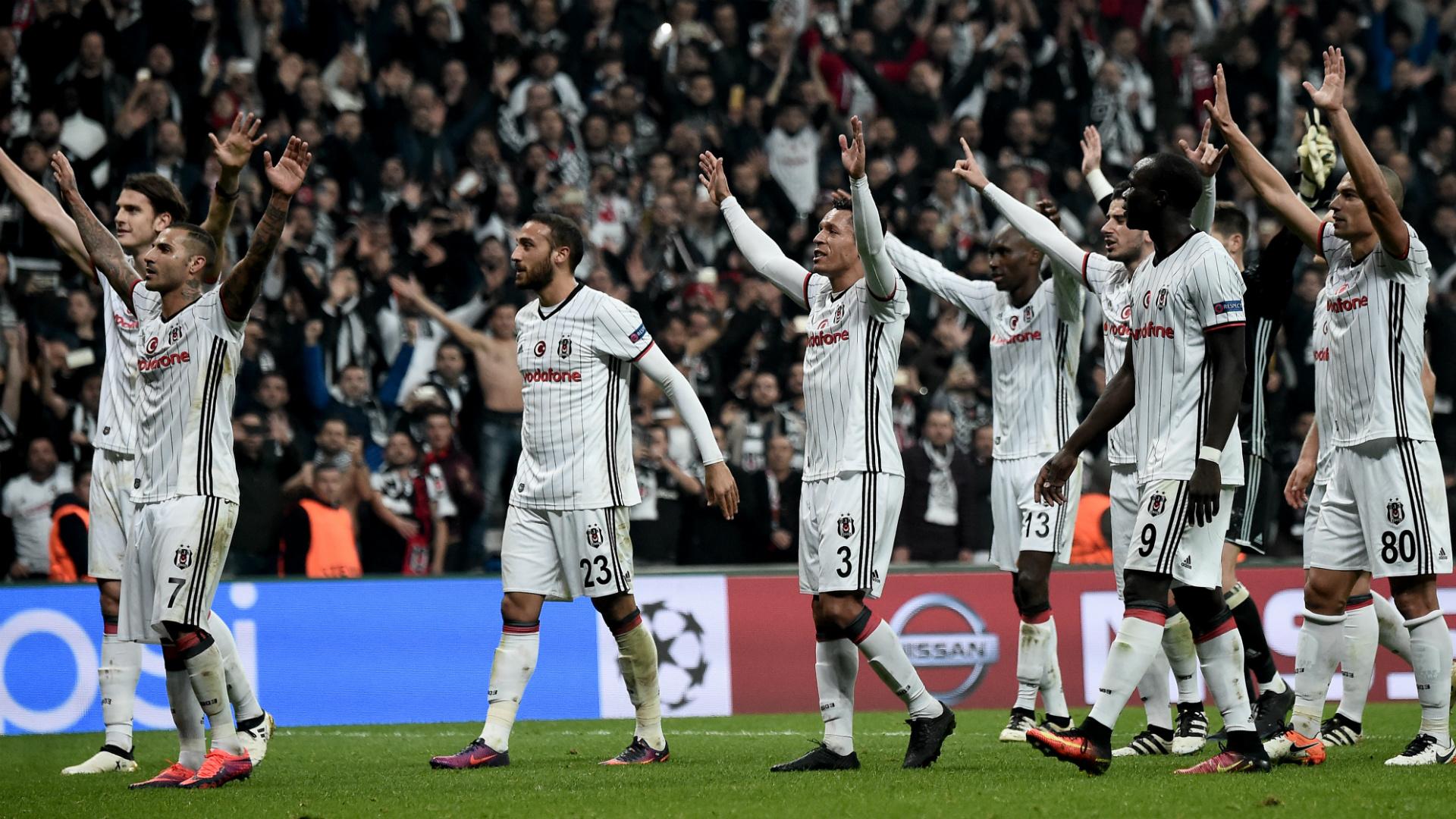 Nine-man Besiktas hopes end with 6-0 loss at Dynamo Kiev