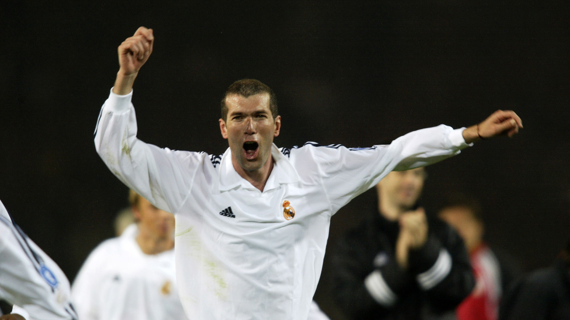 Zinedine Zidane Real Madrid Bayer Leverkusen 2002 Champions League final