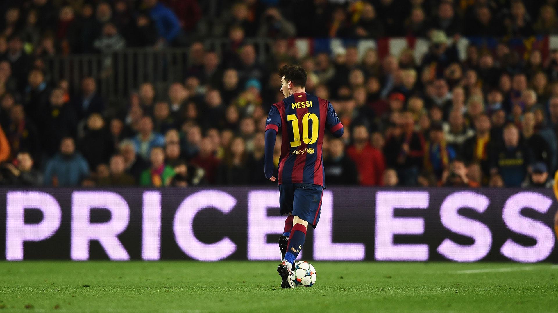 Lionel Messi Barcelona Priceless