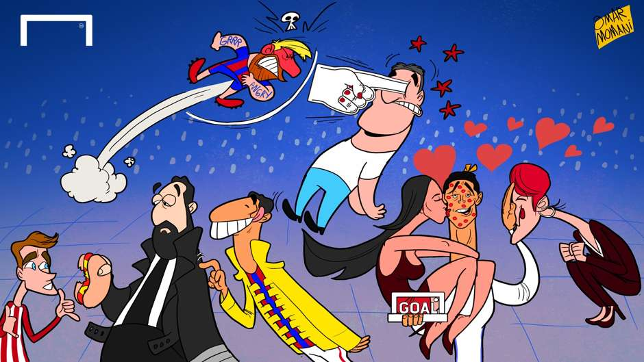 Goal 50 Cartoon