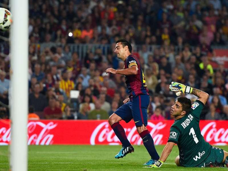 Barça, huitième titre pour Xavi