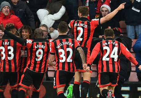 Premier: Bournemouth 4-3 Liverpool