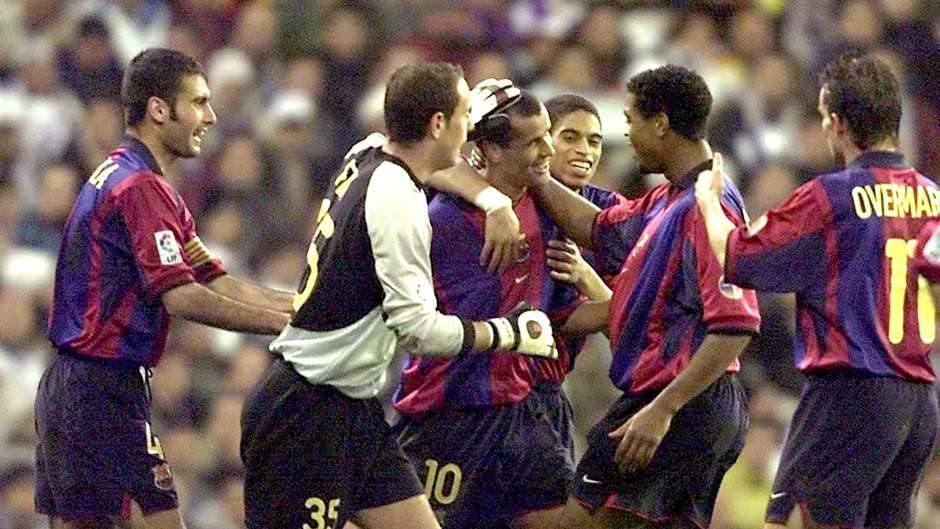 Rivaldo Barcelona Real Madrid 2001
