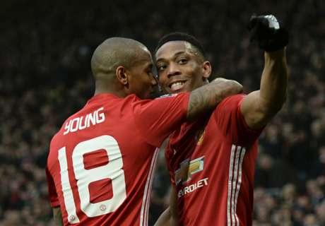 Martial shows depth in Man Utd attack