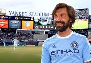 Andrea Pirlo. New York City.