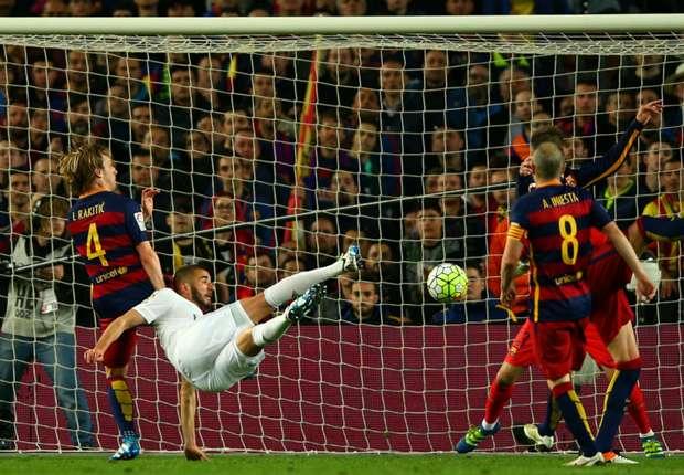 Barcelone 1-2 Real Madrid : Zidane et le Real créent l