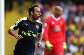 Cazorla still waiting on talks over new Arsenal deal