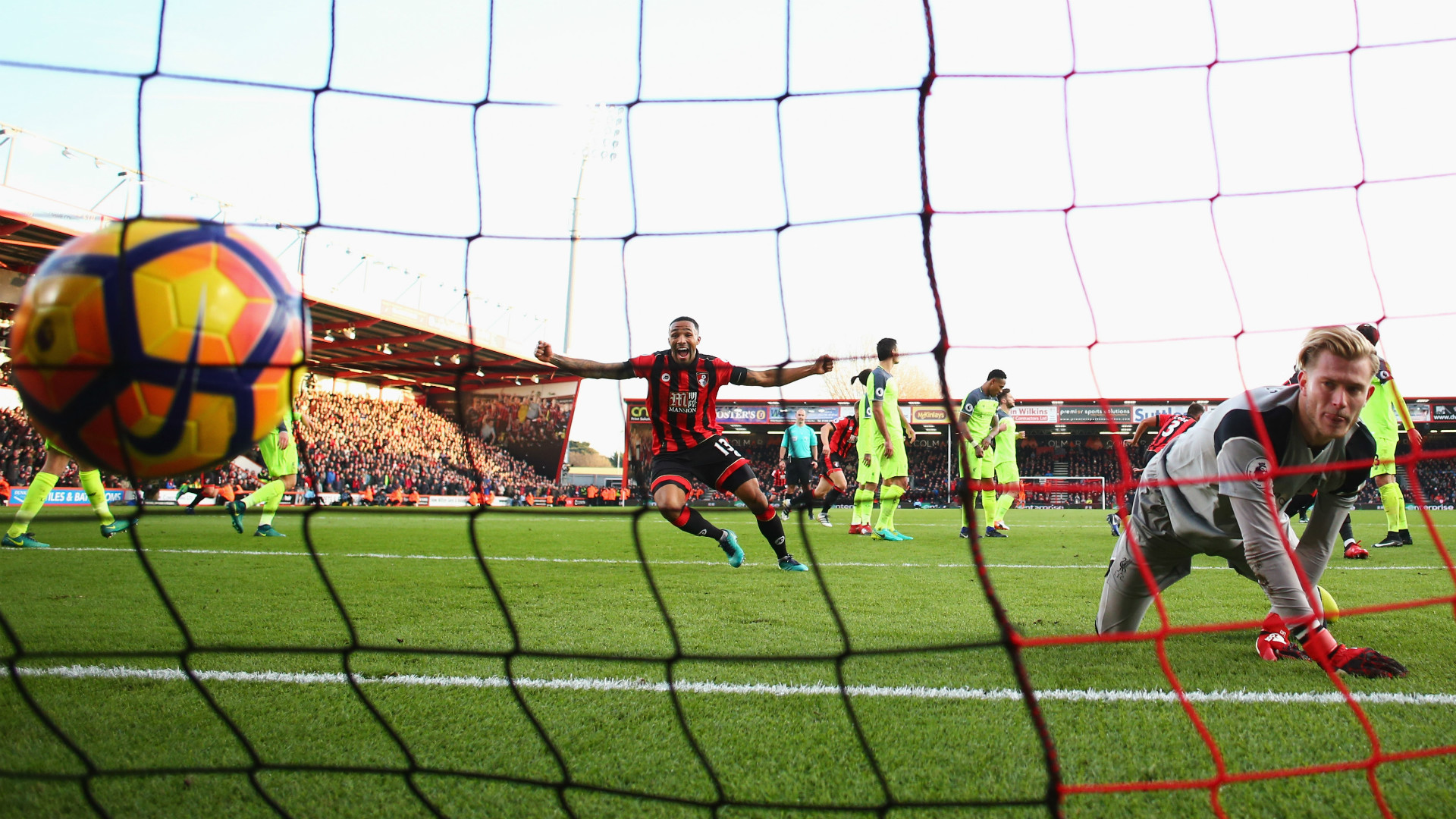 HD Bournemouth 4-3 Liverpool