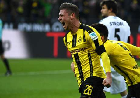 Ratings: Dortmund 4-1 M'gladbach