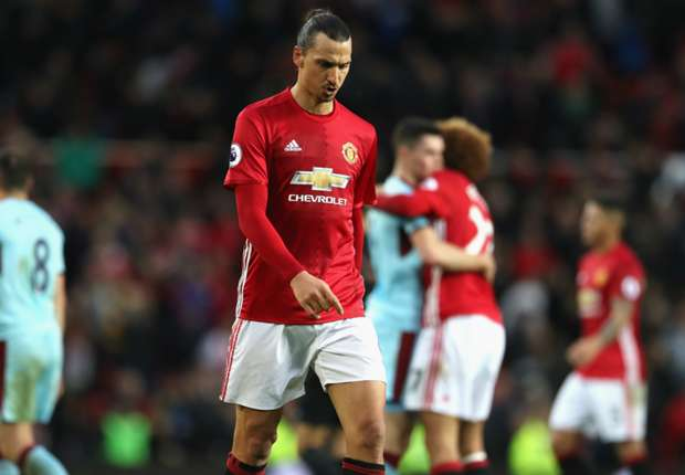Manchester United 0-0 Burnley: Mourinho sent to stands as poor run continues