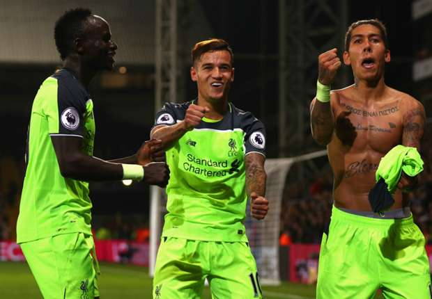 Crystal Palace 2-4 Liverpool: Reds edge thriller at Selhurst Park