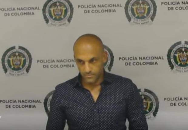 Former Colombia international caught smuggling cocaine in his underwear