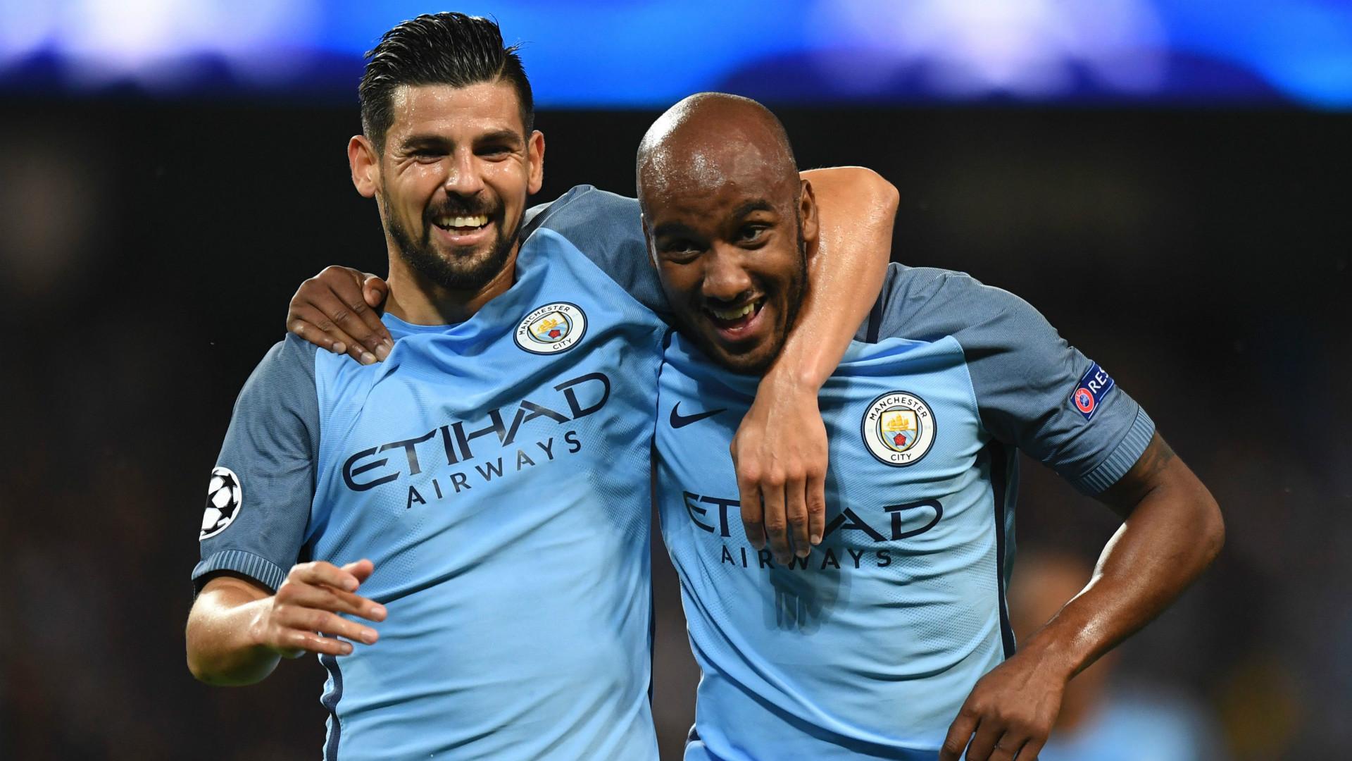 Nolito Fabian Delph Manchester City Champions League