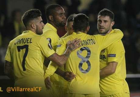 UEL: Villarreal 4-0 Dinamo Minsk