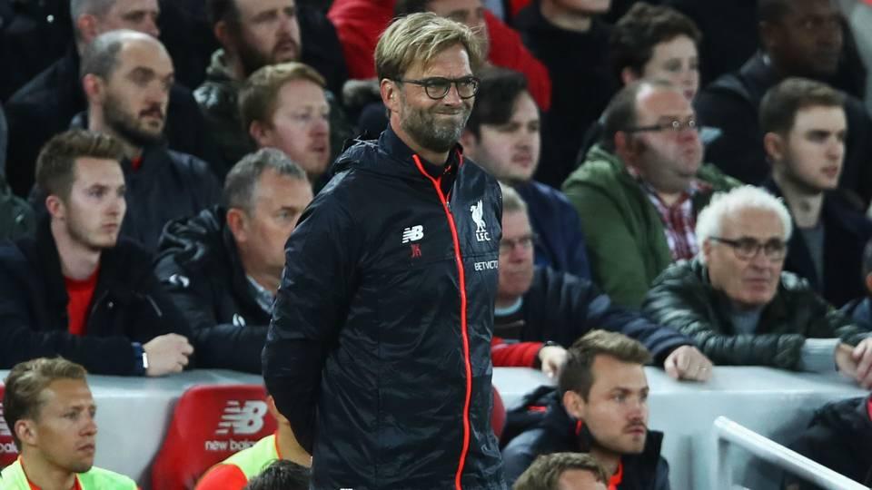 Jurgen Klopp Premier League Liverpool v Manchester United 171016