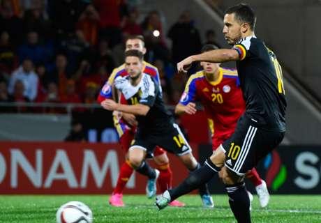 Belgium deserve Euros spot - Hazard