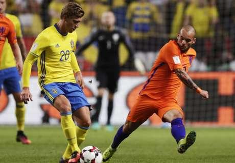 Clasif. Mundial: Suecia 1-1 Holanda