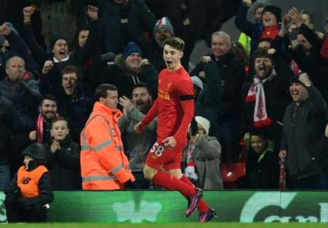 Woodburn, goleador más joven del Liverpool