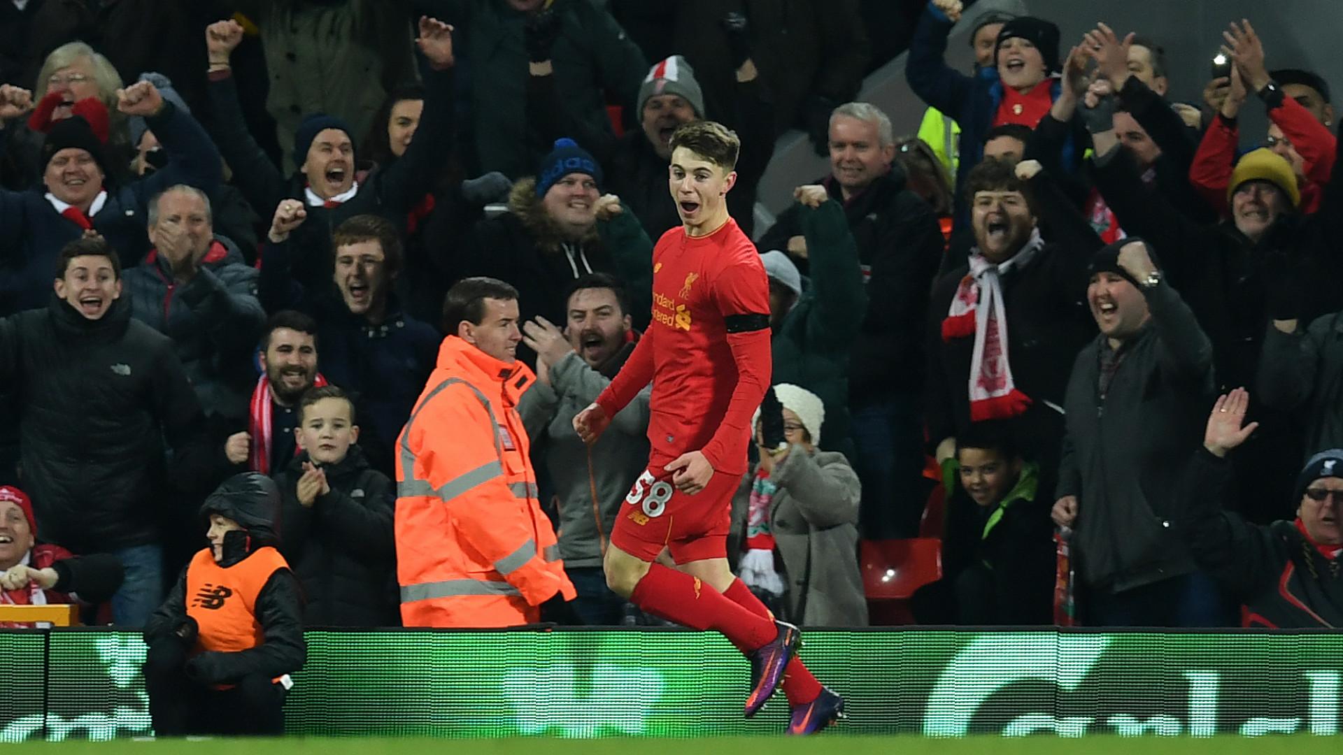 Ben Woodburn Liverpool EFL Cup