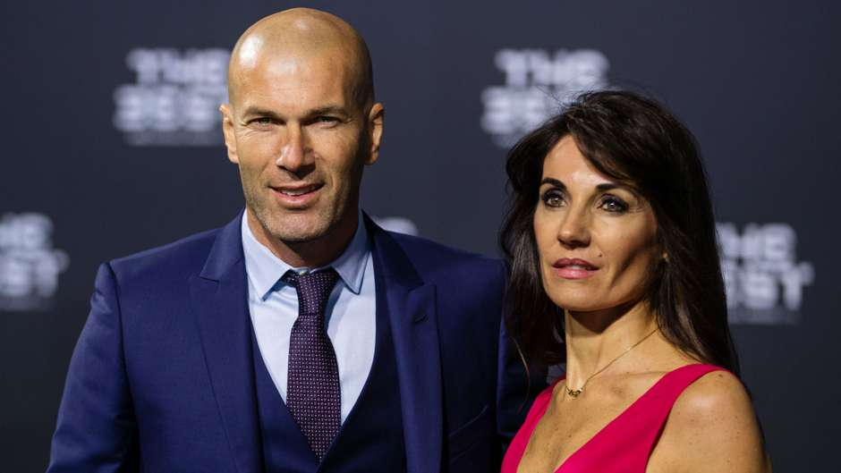 Zinedine Zidane The Best FIFA Football Awards 09012017
