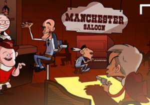 Manchester is re-imagined as the Wild West for Jose Mourinho's arrival at Man Utd, where he's greeted by new Man City manager Pep Guardiola. This town ain't big enough for the both of them...