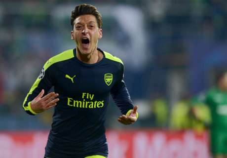 Ozil moves up assist charts in CL