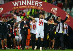 SEVILLA (3): Poised to become the Europa League's most successful team if they beat Dnipro in Wednesday's final. Won back-to-back titles in 2006 and 2007 and have the chance to do so again by defending the trophy they won last season.
