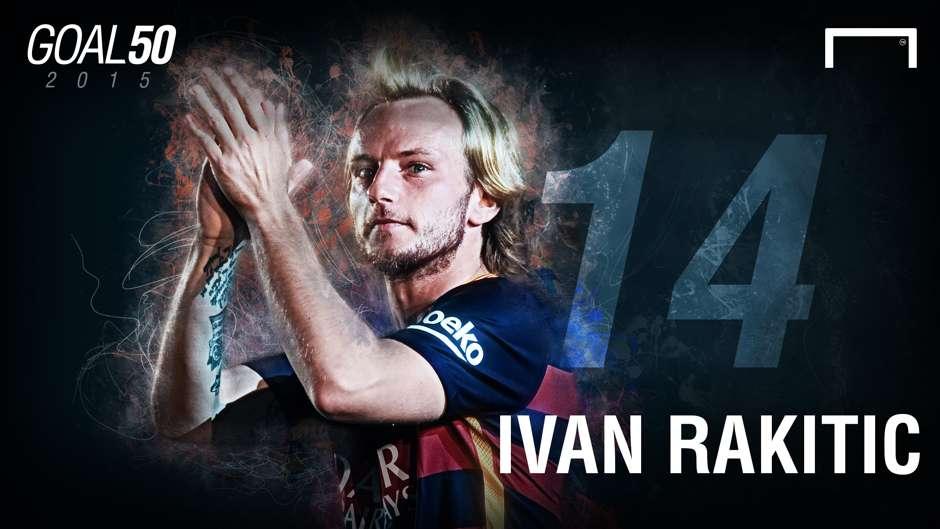 14 Ivan Rakitic G50