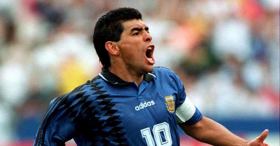 Диего Марадона на ЧМ 1994