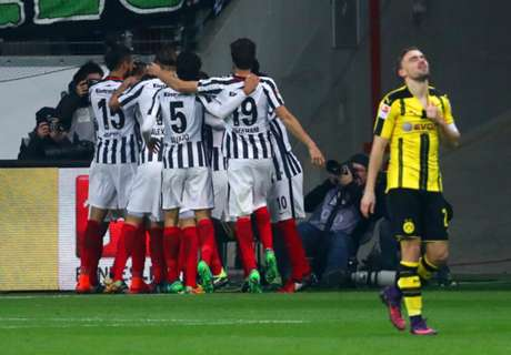 Frankfurt stun BVB with deserved win