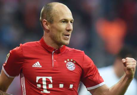 Robben stars in Bundesliga Best XI