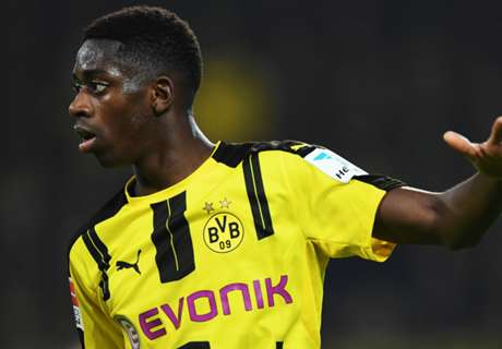 Dembele: Temper gets better of me