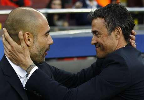 Luis Enrique mejora a Guardiola