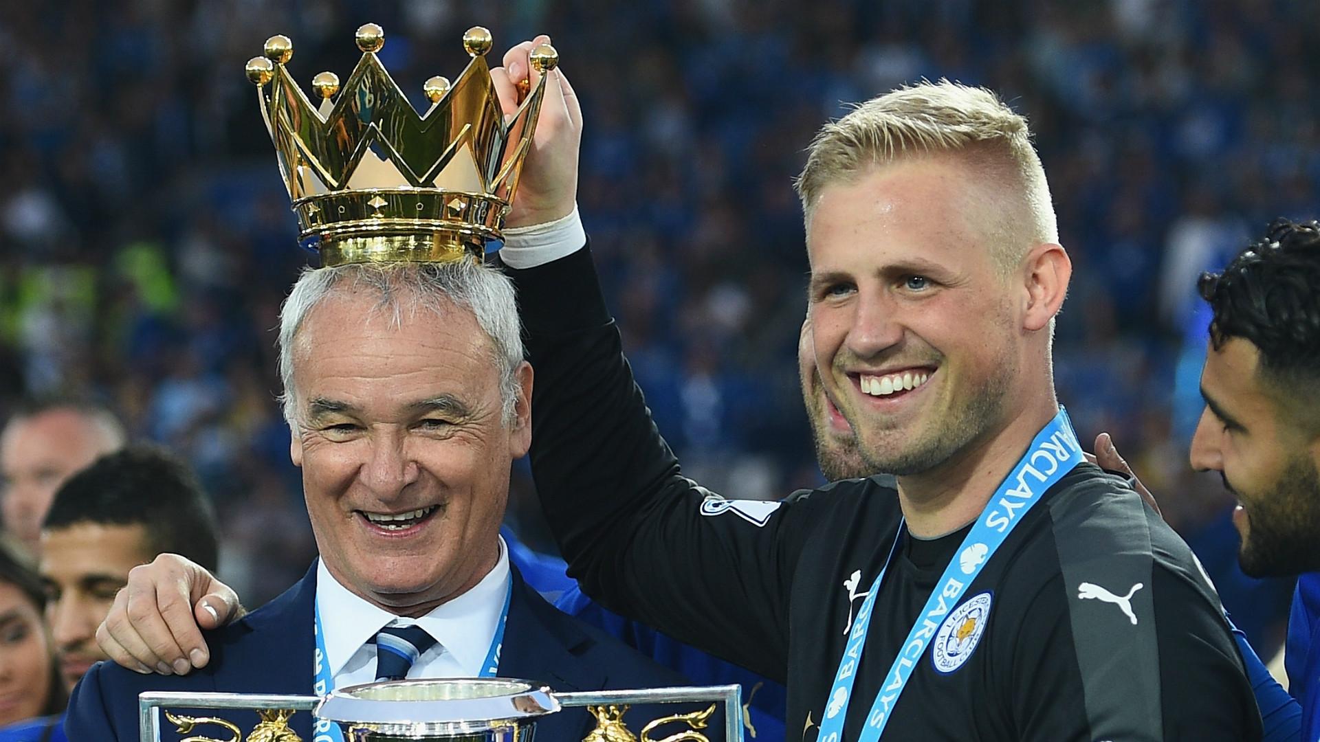 HD Claudio Ranieri Kasper Schmeichel Leicester City