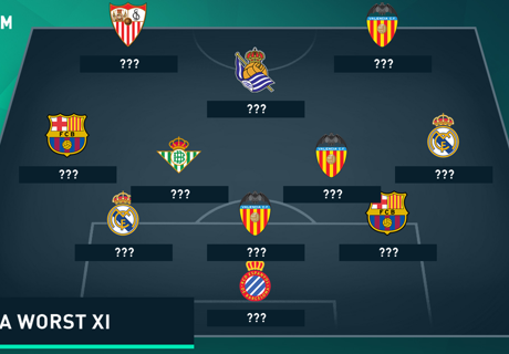 Goal's Worst Liga XI of the Season