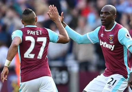 Payet stunner earns West Ham draw
