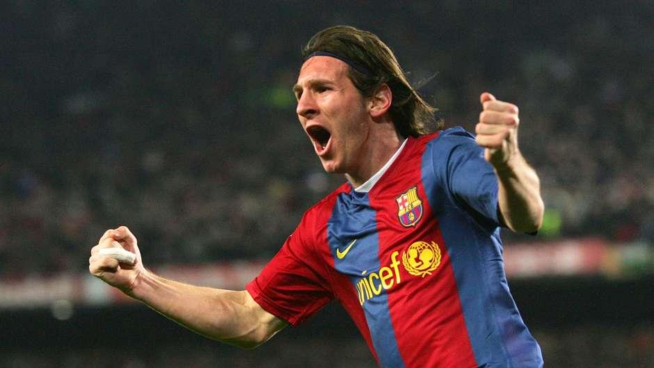Lionel Messi Barcelona Real Madrid 2007