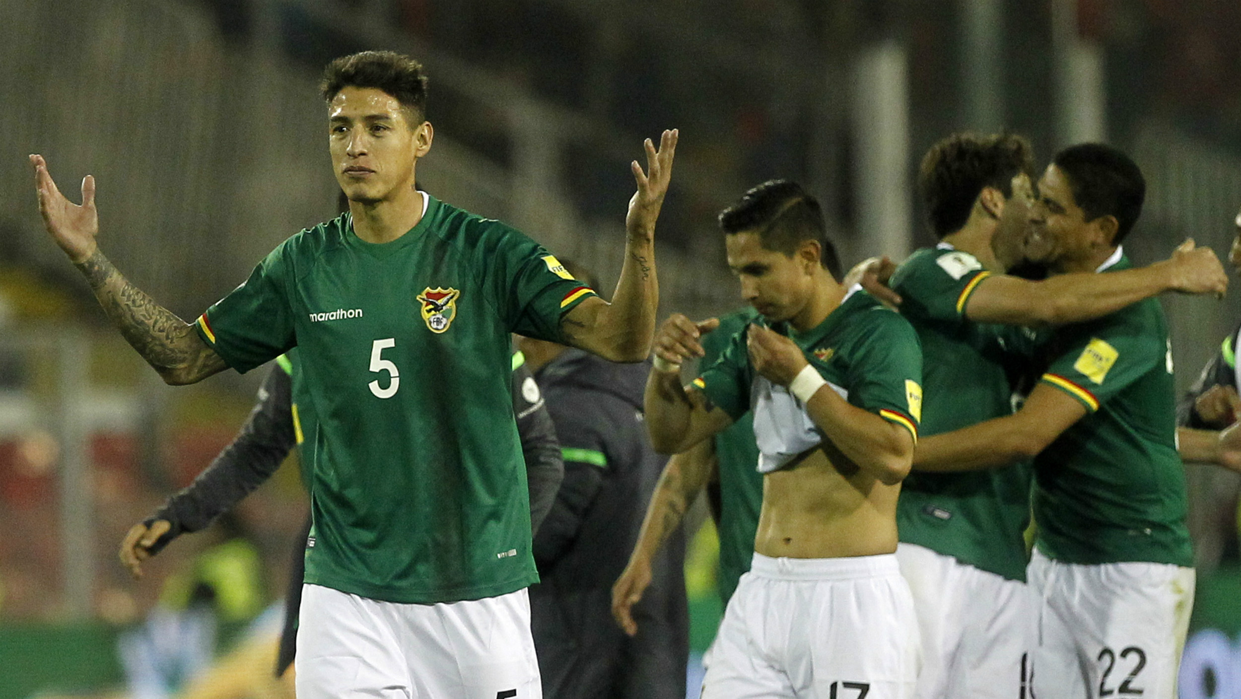 Bolivia stripped of World Cup qualifying points by Federation Internationale de Football Association