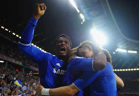 Chelsea fans pay tribute to Mikel