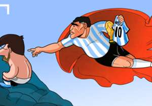 "After Lionel Messi's decision to retire from international football following Argentina's Copa America defeat to Chile, many in the football world have called on him to reconsider, chief among them Diego Maradona who said Messi ""has to stay""..."