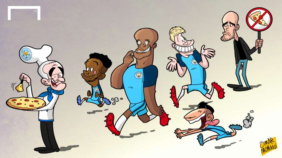 CARTOON: Guardiola bans pizza