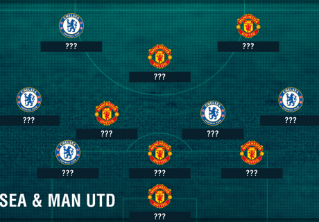 Chelsea & Man Utd combined XI