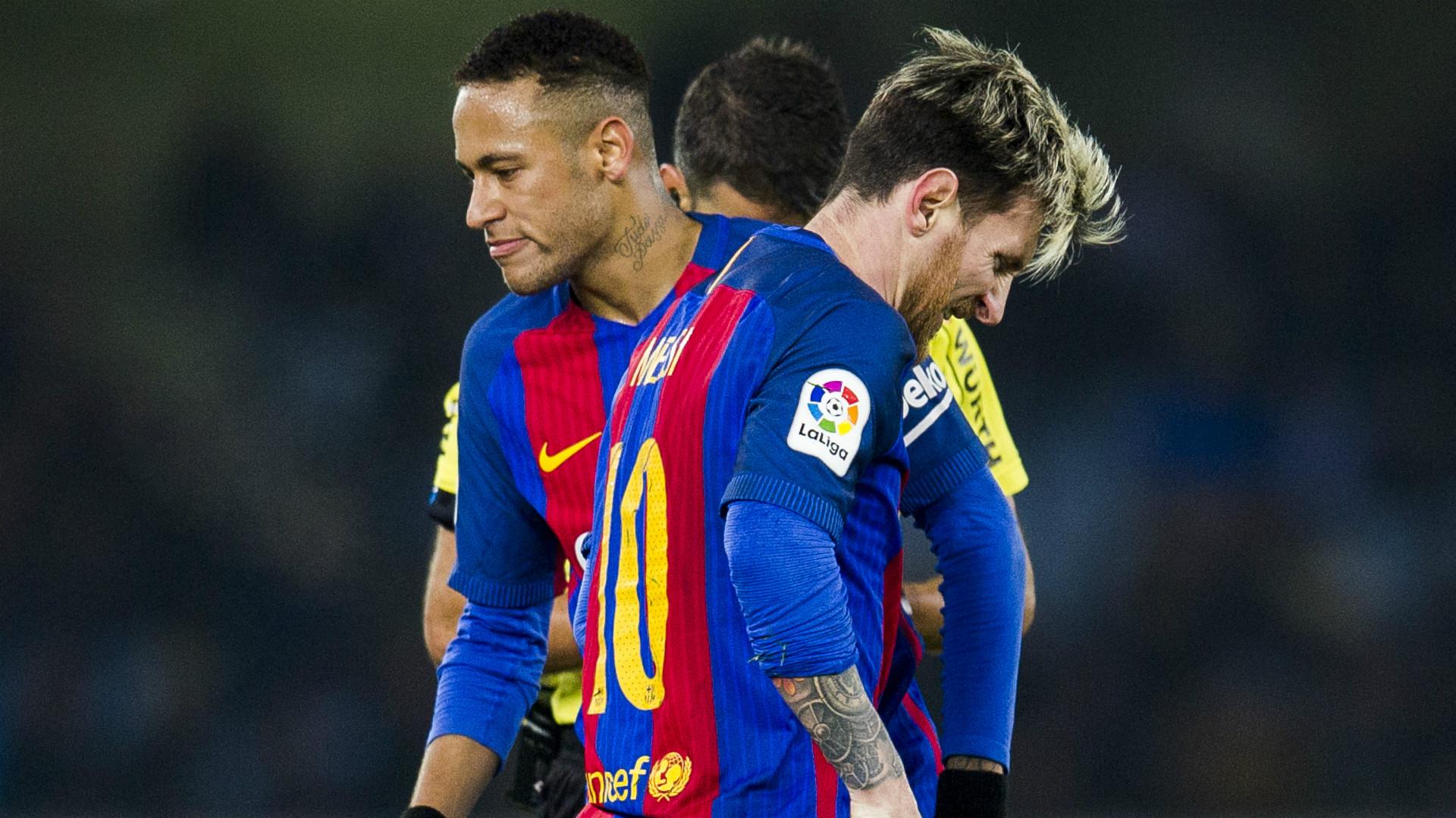 Neymar Lionel Messi Barcelona