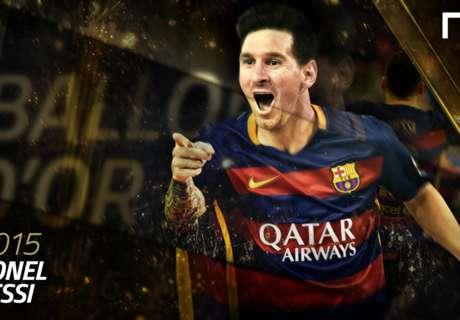 El año de Messi, en imágenes
