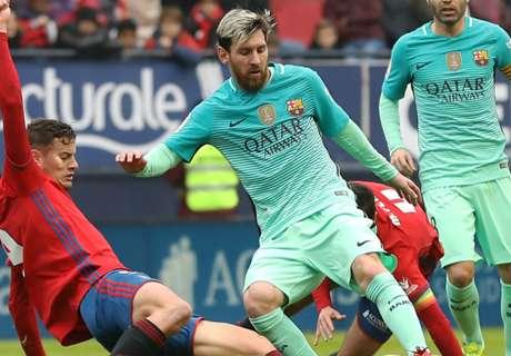 Messi lideró el triunfo del Barça