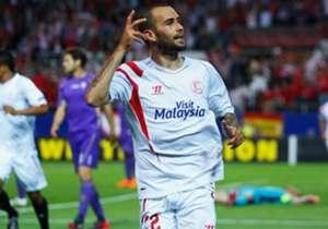 ALEIX VIDAL | Abwehr | Sevilla | Wird Vidal der Nachfolger von Dani Alves bei Barcelona? Der Flügelspieler, der zum Rechtsverteidiger umgeschult wurde, spielt eine tolle Saison. Im Halbfinale gegen Florenz traf er doppelt.