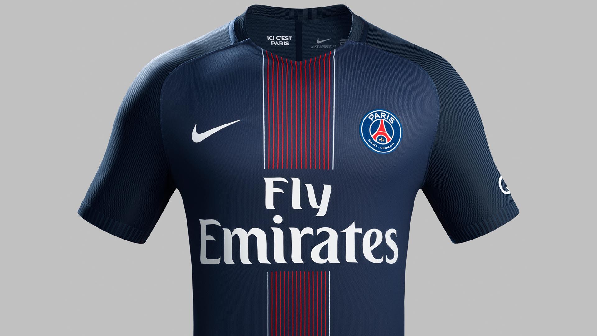 1a67faa05 ... PARIS SAINT-GERMAIN 16 17 HOME KIT - Kicks to the Pitch Yükle  (1920x1080) · Nike Barcelona Suarez  9 Soccer Jersey ...