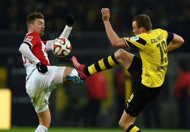 Borussia Dortmund 0-1 Augsburg: Ten-man visitors inflict further misery on Klopp's men