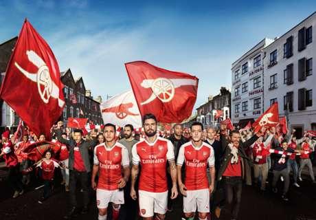 Parade Jersey Baru Klub Top Dunia